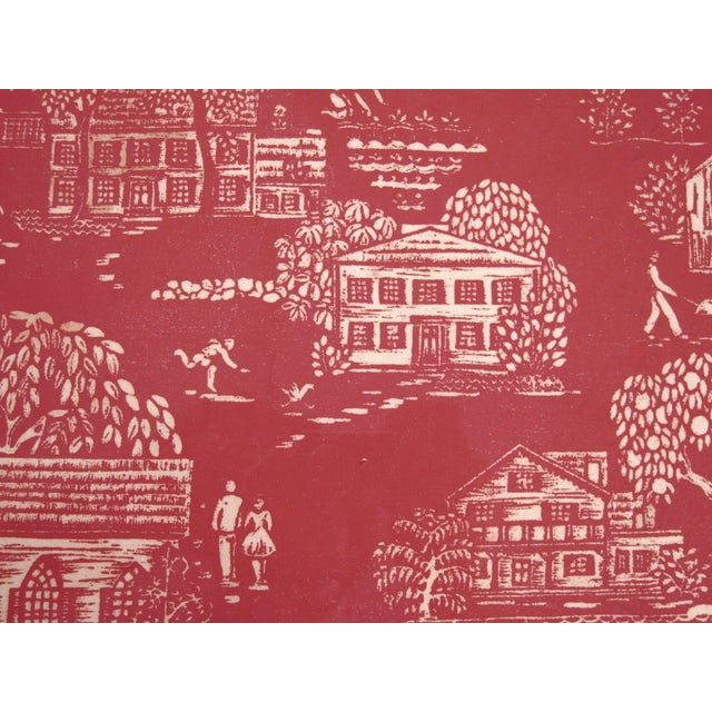 """Folly Cove """"Head of the Cove"""" Hand Block Print For Sale In Boston - Image 6 of 9"""