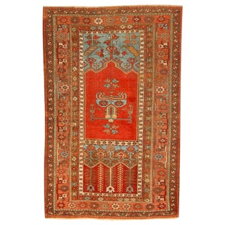 Antique Early 19th Century Turkish Ladik Rug For Sale