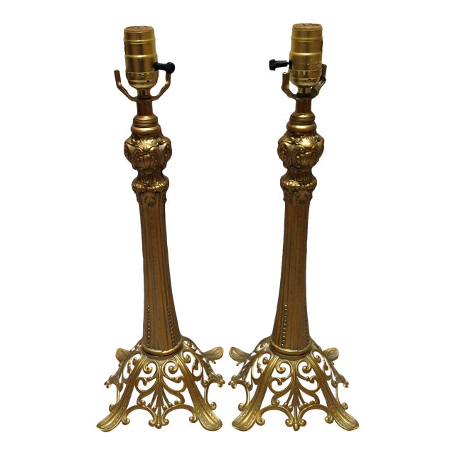 Loevsky & Loevsky Table Lamps - A Pair For Sale