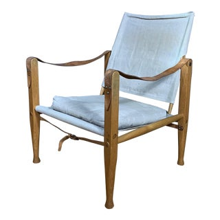 Kaare Klint Safari Chair, Rud Rasmussen, Denmark For Sale