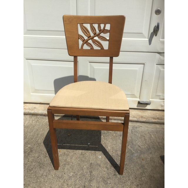 Vintage Carved Art Deco Chairs - Set of 6 For Sale - Image 11 of 11