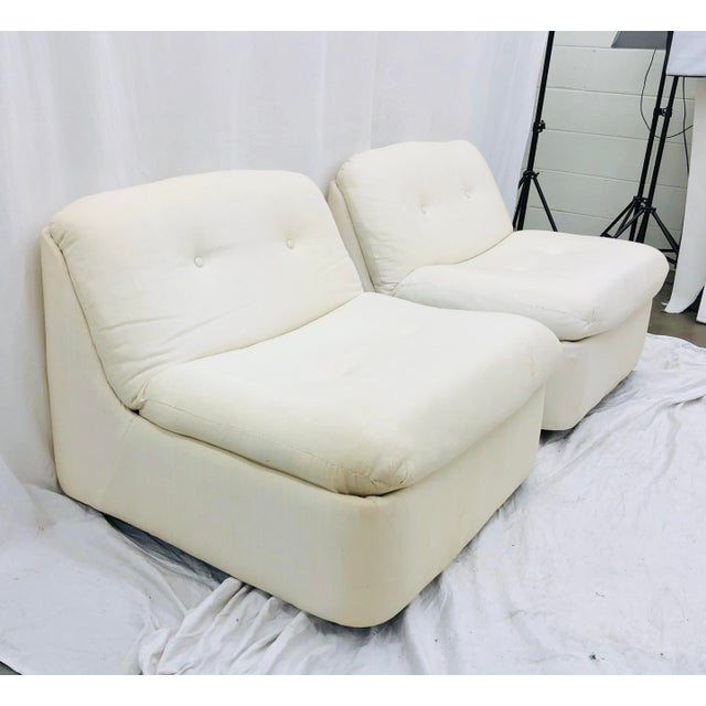 Vintage Contemporary Modern Slipper Chairs For Sale - Image 13 of 13