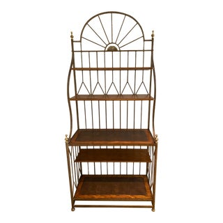 Spanish Drexel Bakers Rack For Sale