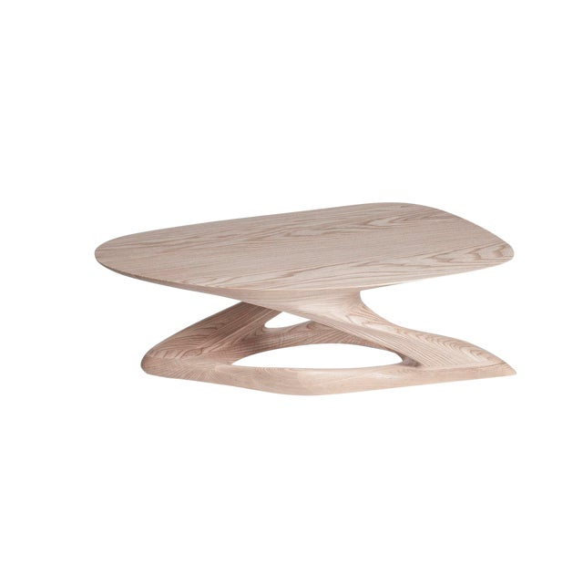 Amorph Plie´ Coffee Table, Natural Stained For Sale