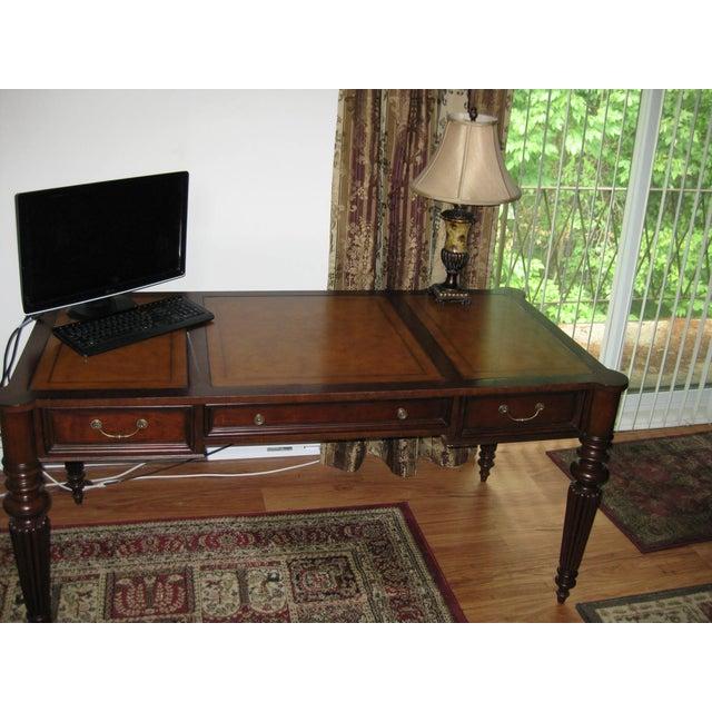Ethan Allen Newport Edwardian Desk - Image 3 of 11