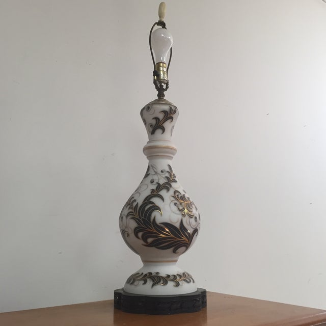 Hand Painted Table Lamp - Image 11 of 11