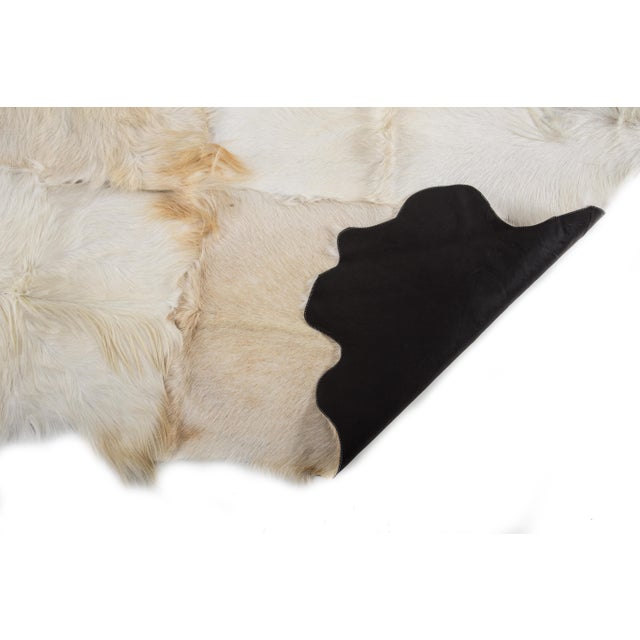"Aydin Goatskin Patchwork Accent Area Rug - 4'7"" x 7'3"" - Image 8 of 8"