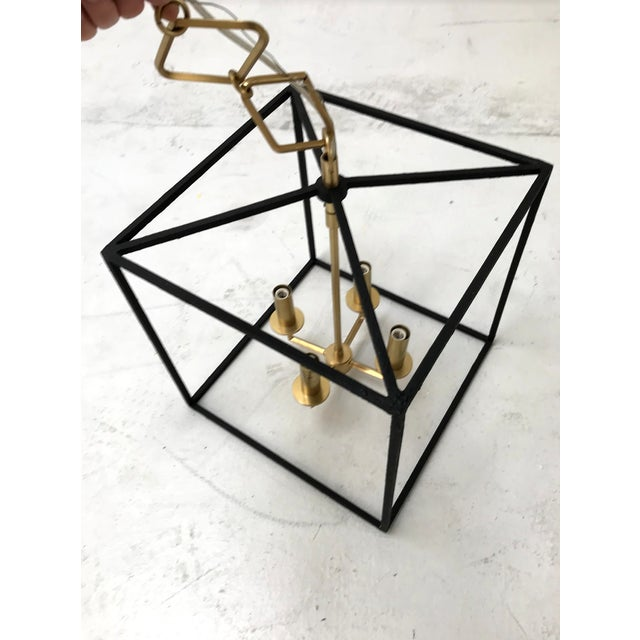 Hudson Valley Lighting Modern Brass and Gold Pendant by Becki Owens for Hudson Valley Lighting For Sale - Image 4 of 10