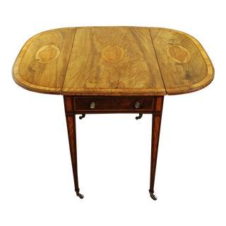 18th Century George III Pembroke Mahogany Table For Sale