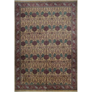 1990s Handwoven European Style Rug - 11′10″ × 17′8″ For Sale