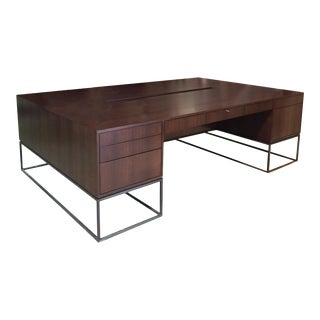 Maxine Snider Inc. Library Partner's Desk For Sale