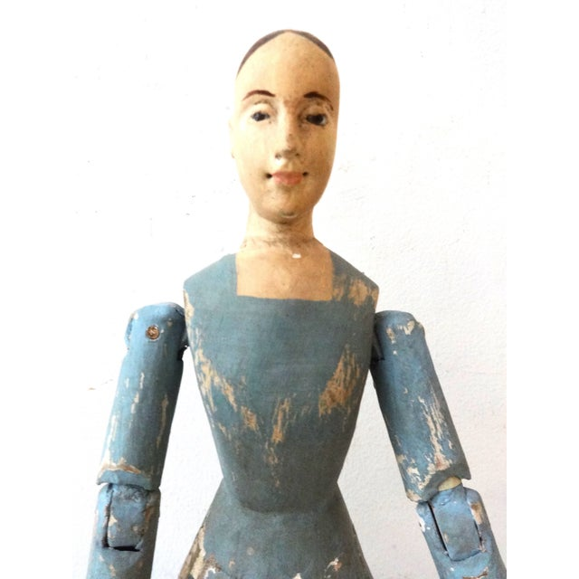 Hand Carved Wood Articulated Hands Doll/Mannequin - Image 6 of 6