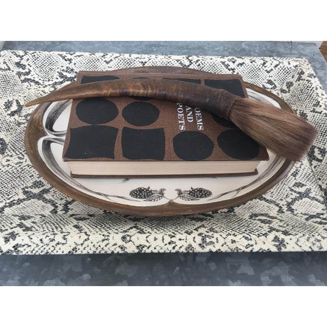 Vintage Chinese Calligraphy Brush For Sale In Chicago - Image 6 of 7