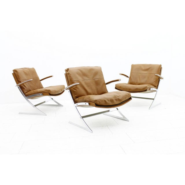 Pair of Lobby Lounge Chairs by Preben Fabricius for Arnold Exclusiv, 1972 For Sale - Image 9 of 11