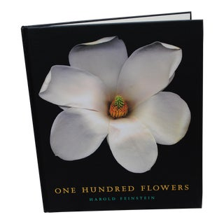 One Hundred Flowers Photography Coffee Table Book - Feinstein For Sale
