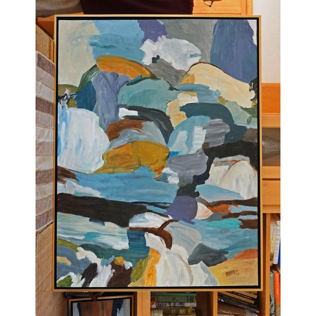 """Mountain Pool"" Painting by Laurie MacMillan For Sale In Los Angeles - Image 6 of 6"