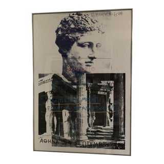 1980s Robert Rauschenberg Signed Lithograph Poster For Sale