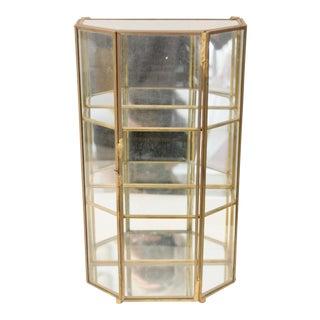 Glass & Brass Display Box