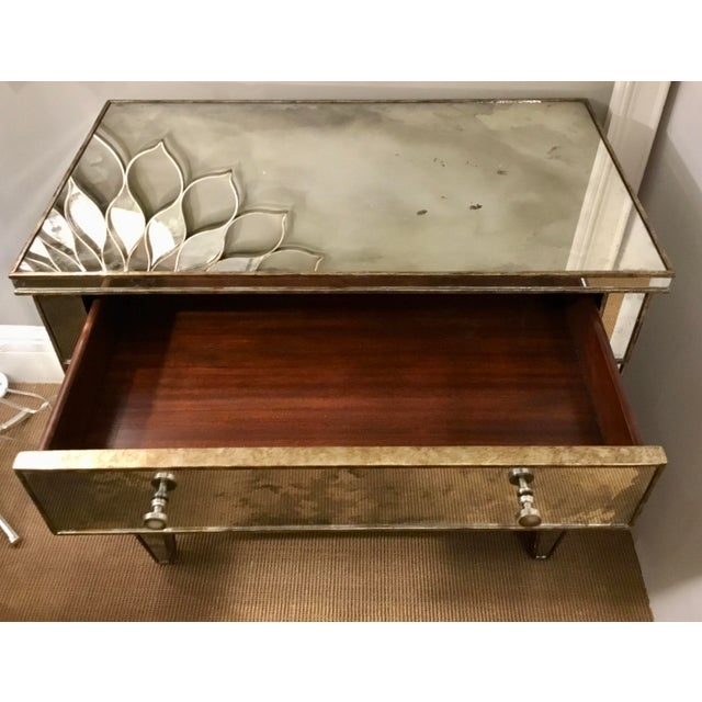 Century Furniture Modern Mirror Bedside Chest of Drawers For Sale In Atlanta - Image 6 of 7
