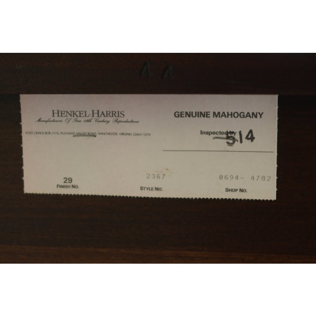 Henkel Harris Model 2367 Inlaid Federal Mahogany Sideboard For Sale - Image 9 of 13