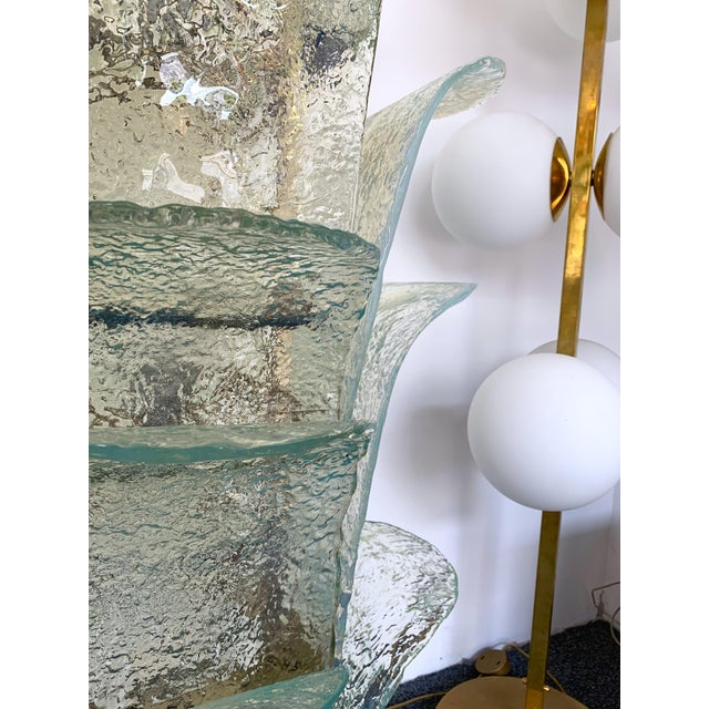 Floor Lamp Cactus Lt 320 by Carlo Nason for Mazzega Murano, 1970s For Sale - Image 6 of 10