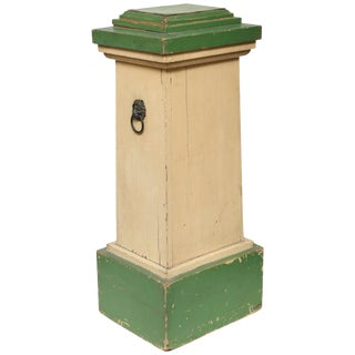 Conservatory Pedestal in Original Paint For Sale