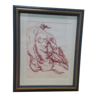 1985 Male Sketch of a Back For Sale