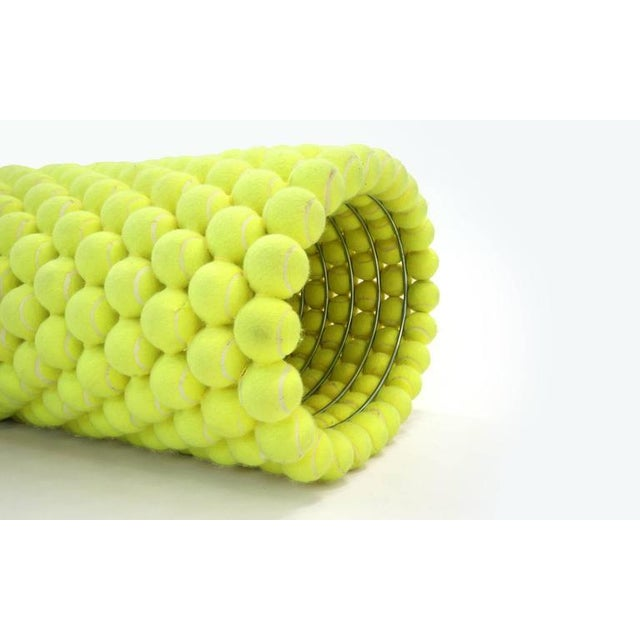 Metal Tennis Ball Bench Designed by Tejo Remy & Rene Veenhuizen For Sale - Image 7 of 8