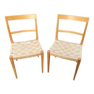 "Bruno Mathsson Mid-Century Modern ""Mimat"" Chairs, 1963 - A Pair"