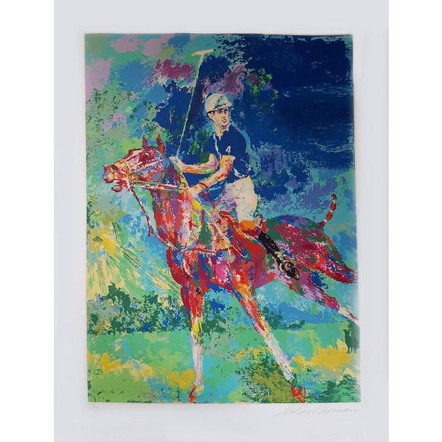 American Artist LeRoy Neiman Prince Charles at Winsor Framed Art For Sale - Image 3 of 8