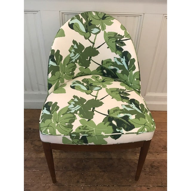 Beautiful Hickory Chair Laurent Chair, by Suzanne Kasler. Upholstered in Peter Dunham Fig Leaf Can be used at a desk,...