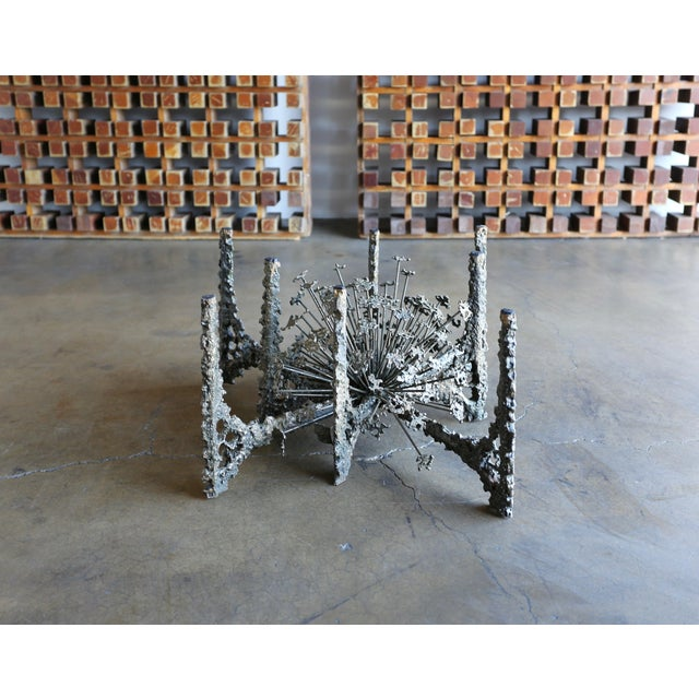 Bronze 1970s Sculptural Coffee Table by Daniel Gluck For Sale - Image 7 of 10