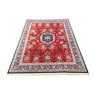 Handknotted Kashan Style Area Rug - 10′3″ × 15′