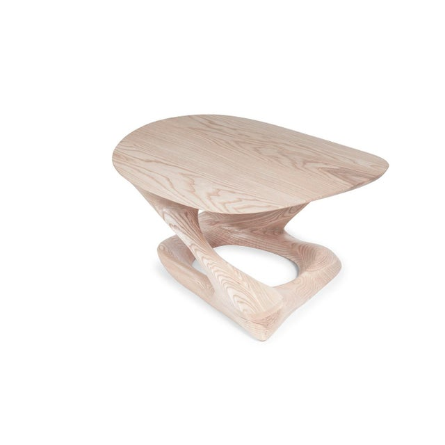 Not Yet Made - Made To Order Amorph Plie´ Coffee Table, Natural Stained For Sale - Image 5 of 10