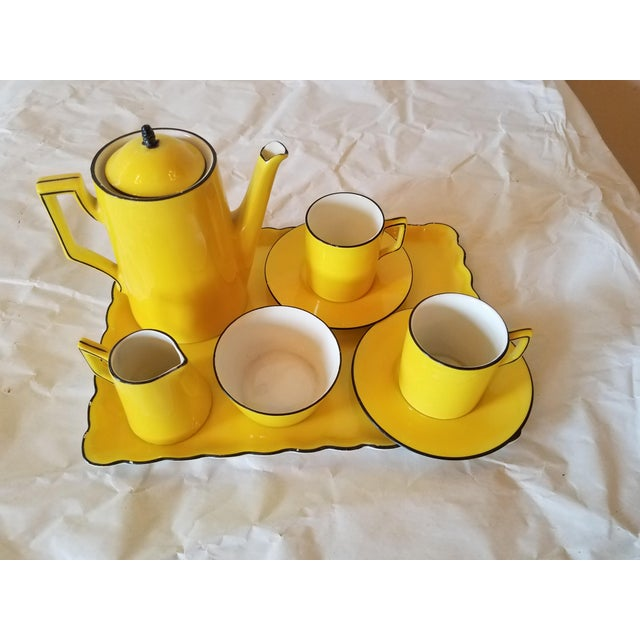 Antique Miniature Tea Set for Two - 8 Pieces For Sale - Image 11 of 11