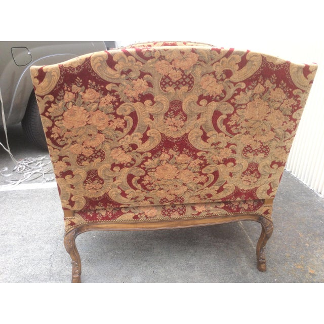 Wood Tuscan Style Settees - a Pair For Sale - Image 7 of 13