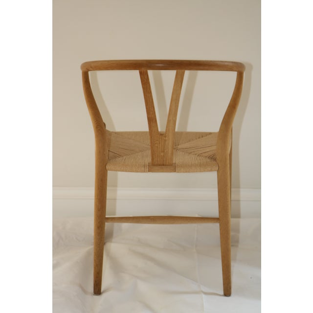 Hans Wegner for Carl Hansen & Son Ch24 Wishbone Chairs - Set of 8 For Sale - Image 11 of 13