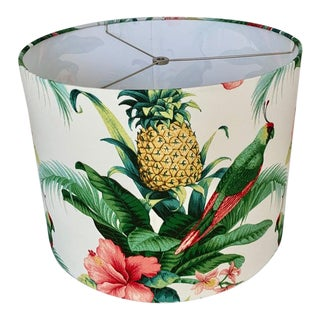 Custom Tropical Floral Lamp Shade For Sale