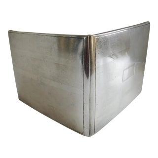 Sterling Silver Art Deco 1920's Cigarette Case