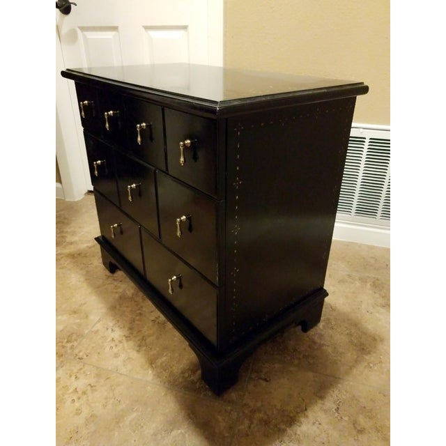 Drexel Heritage 9 Drawer Apothecary Cabinet For Sale - Image 9 of 11