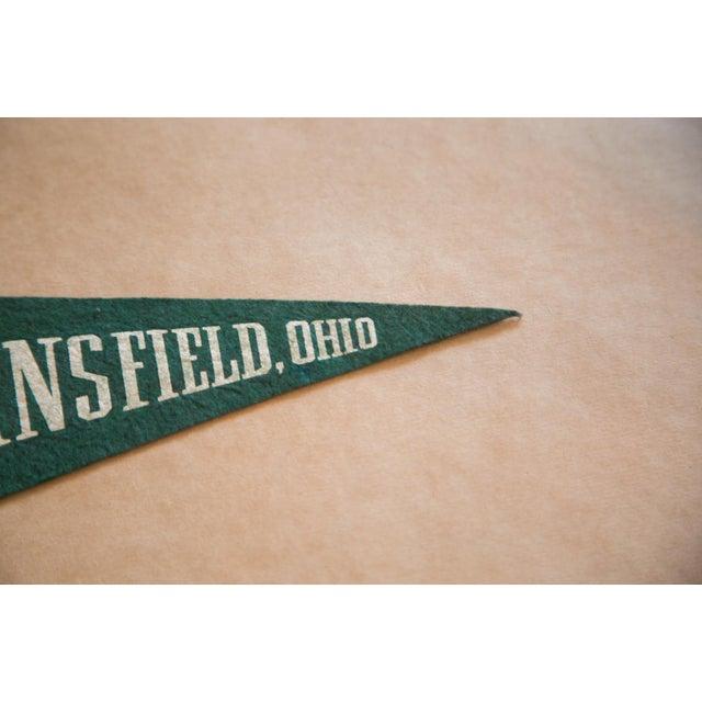 Americana Mansfield Ohio Felt Flag For Sale - Image 3 of 4