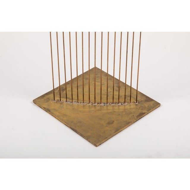 "Large Val Bertoia 15-Rod ""Curve of Sounding Cat Tails"" Sculpture, 2016 For Sale In Los Angeles - Image 6 of 13"