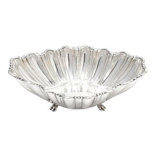 Reed & Barton Large Footed Serving Bowl For Sale