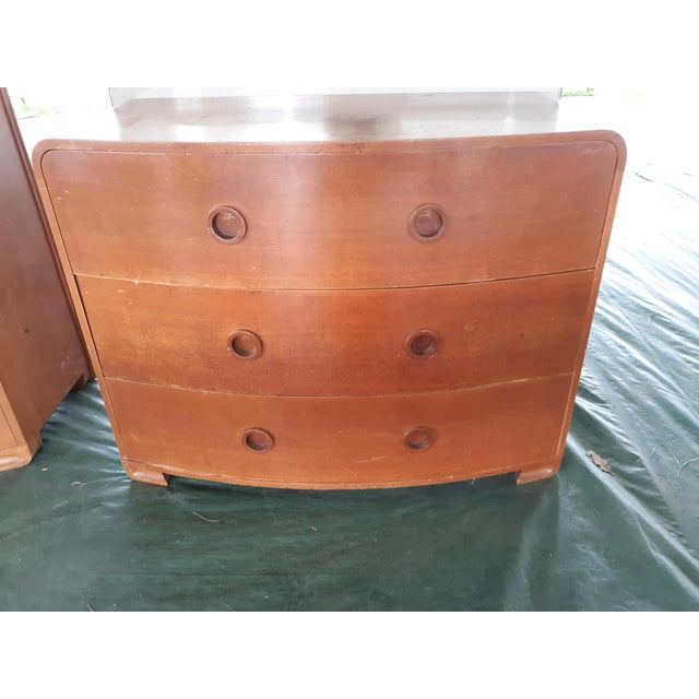 1930s Art Deco Count Alexis De Sakhnoffsky Chests of Drawers - Set of 2 For Sale - Image 9 of 11