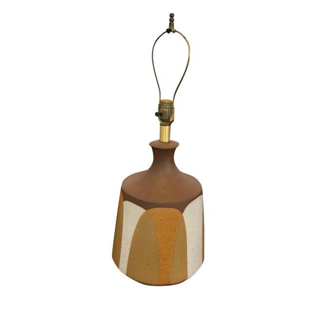 Ceramic Flame Series Lamp by David Cressey - Image 1 of 5