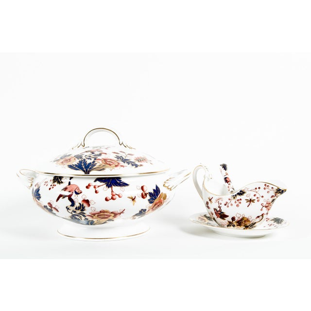 Ceramic English Porcelain Tureen Set of 4 For Sale - Image 7 of 7