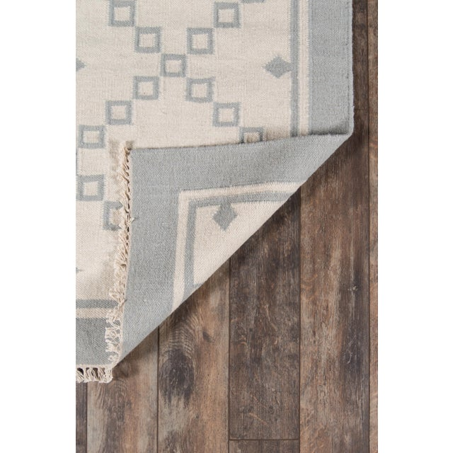 Contemporary Erin Gates Thompson Langley Grey Hand Woven Wool Area Rug 2' X 3' For Sale - Image 3 of 5