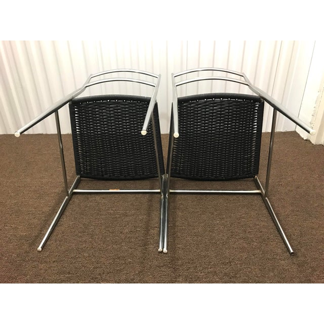 "1960s 1960s Gio Ponti Style ""Superleggera"" Chairs - a Pair For Sale - Image 5 of 7"