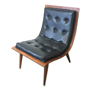 Mid-Century Modern Carter Brothers Scoop Chair For Sale