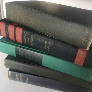 Antique Business School Textbook Bundle - Set of 5 Preview